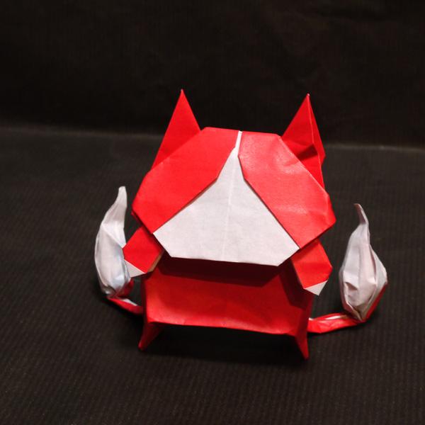 折り紙 妖怪ウォッチ ジバニャン