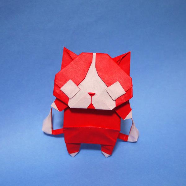折り紙 ジバニャン
