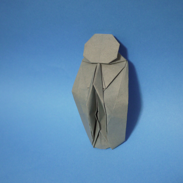 折り紙 地蔵