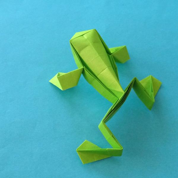 クリスマス 折り紙 カエル 折り紙 : origamida.com