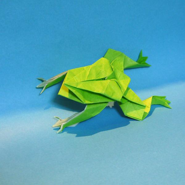 折り紙 カエル