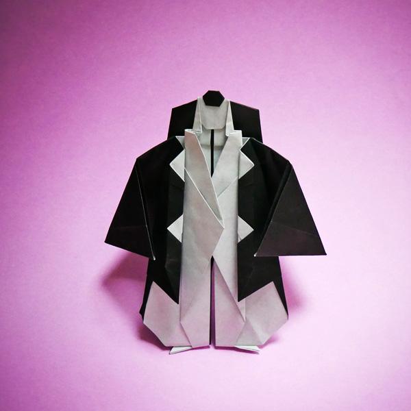 折り紙の歌舞伎の勧進帳