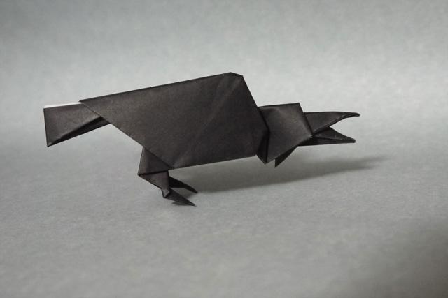 折り紙 カラス