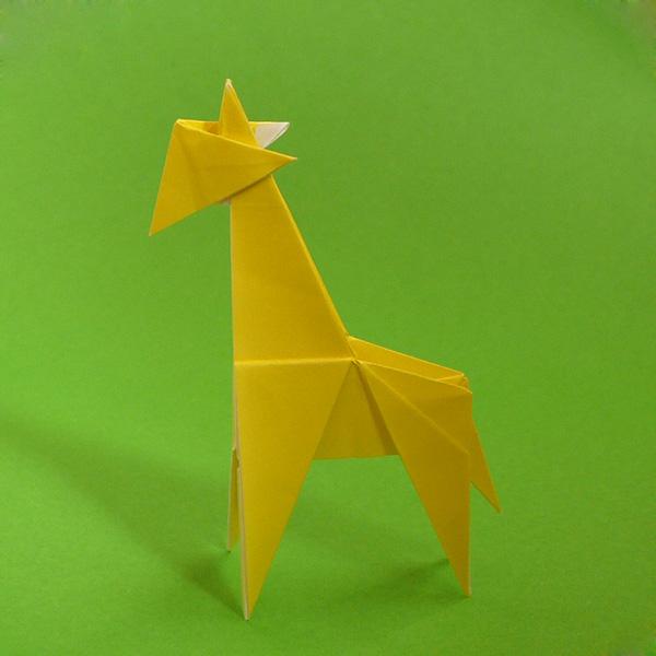 折り紙 キリン