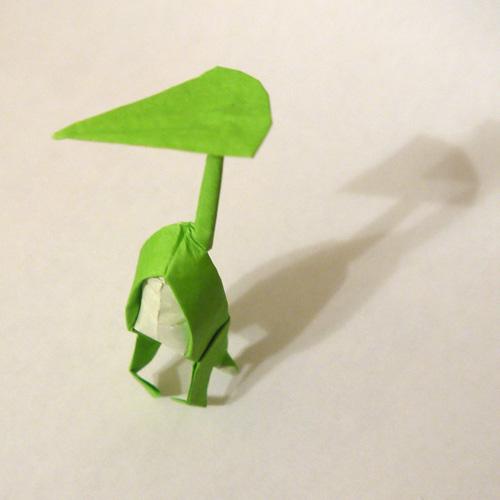 折り紙 こびとづかん