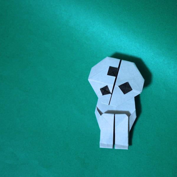折り紙 もののけ姫のこだま