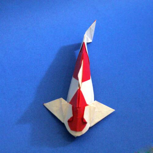 折り紙 鯉 carp