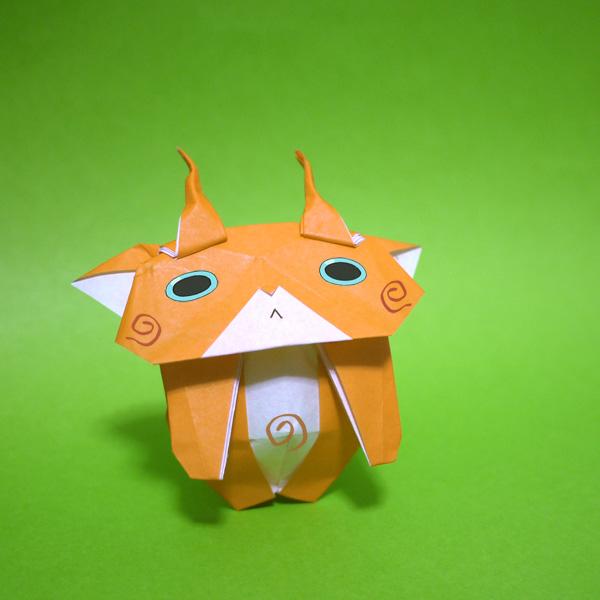 簡単 折り紙 こまじろう 折り紙 : origamida.com