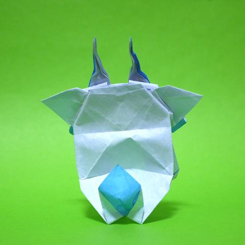 折り紙 コマさん