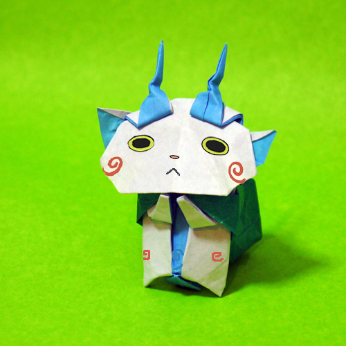折り紙 コマさん 妖怪ウォッチ
