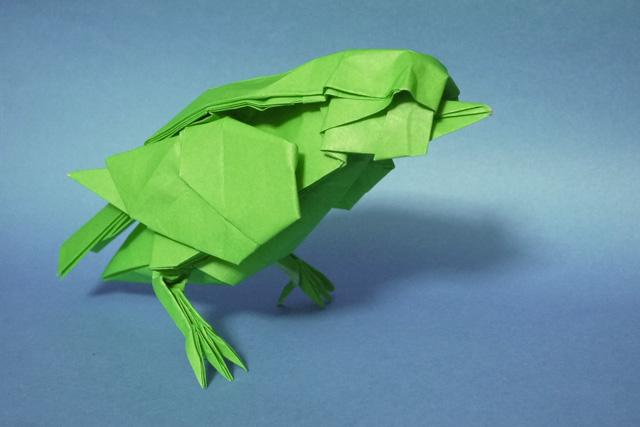 折り紙 小鳥