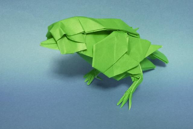 ハート 折り紙 : 折り紙 風船の折り方 : divulgando.net