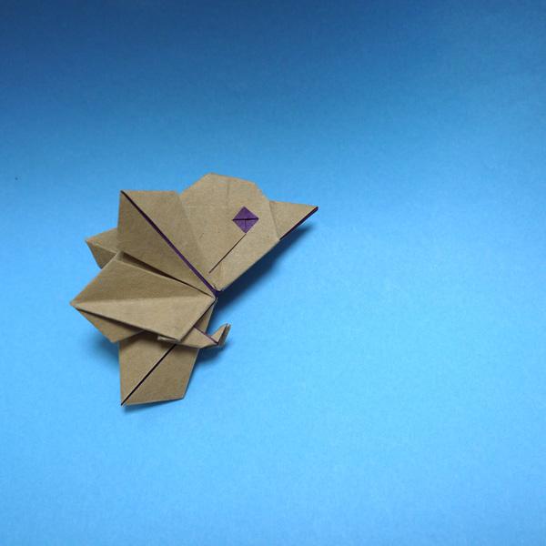 折り紙 はばたく小鳥