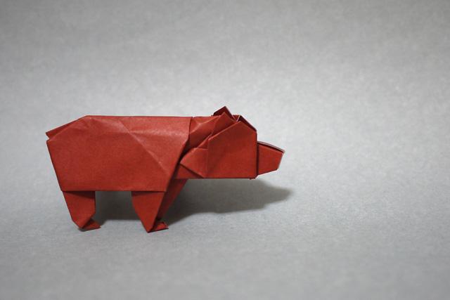折り紙 クマ