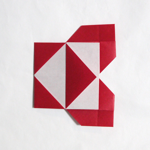 折り紙 京セラのシンボルマーク