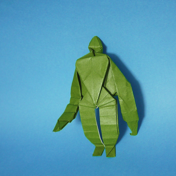 折り紙 ラピュタの園丁ロボット兵
