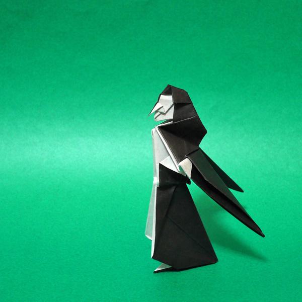 折り紙の魔女