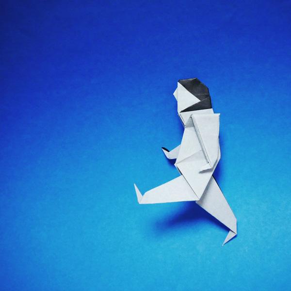 折り紙の人