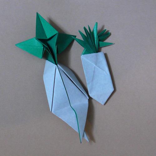 折り紙 マンドラゴラ