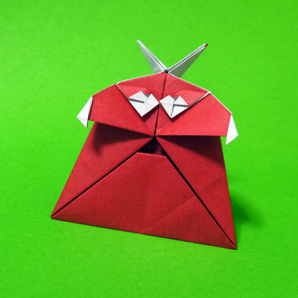 折り紙 ポンキッキのムック