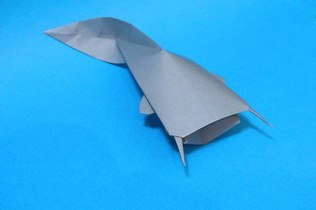 折り紙の アンパンマン折り紙の折り方 : 折り紙 ナマズ - 折り紙 Origami ...