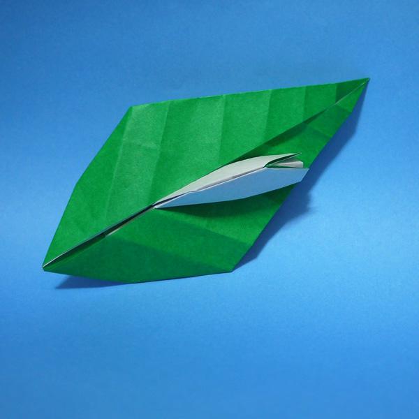 折り紙 ナメクジ