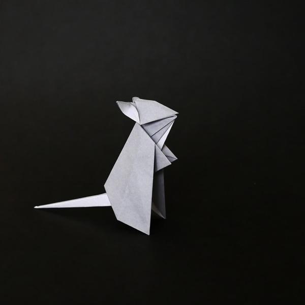折り紙の鼠