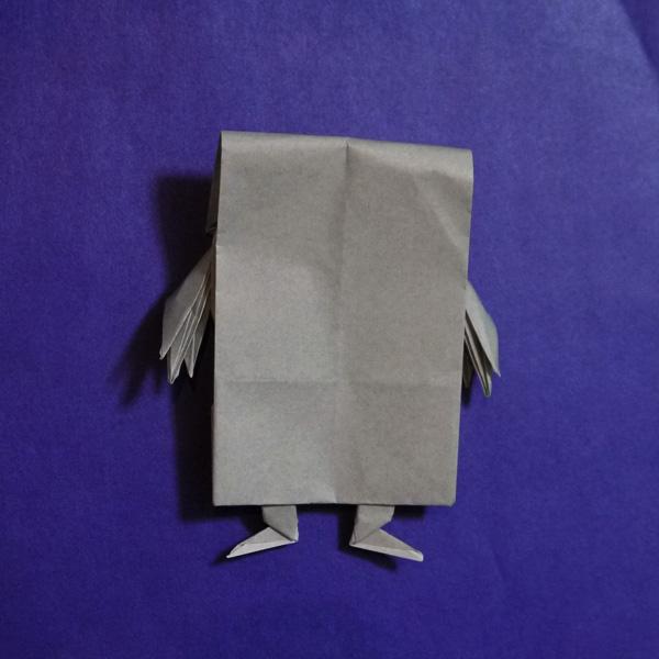 折り紙 ぬりかべ