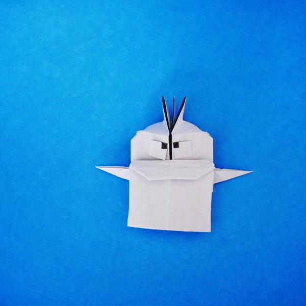 折り紙のオバケのQ太郎