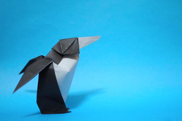 折り紙 ペンギン - 折り紙 Origami 折ります