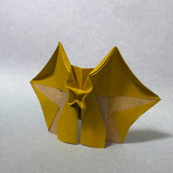 ハート 折り紙 簡単恐竜折り紙 : divulgando.net