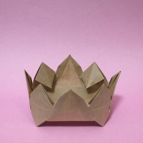 折り紙 仏像の蓮台