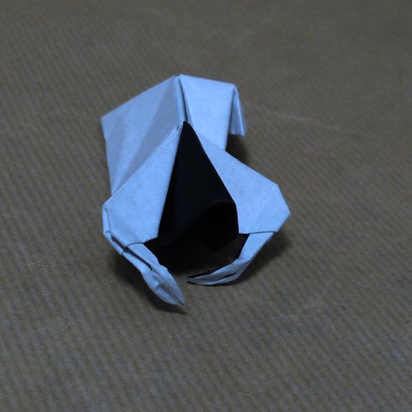 すべての折り紙 折り紙 テレビ : 折り紙 貞子 リング 不切 ...