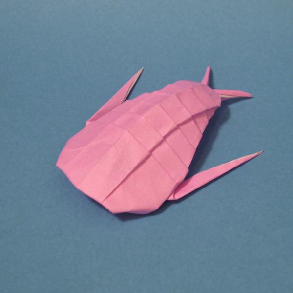 折り紙 三葉虫