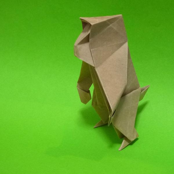 折り紙 日本猿