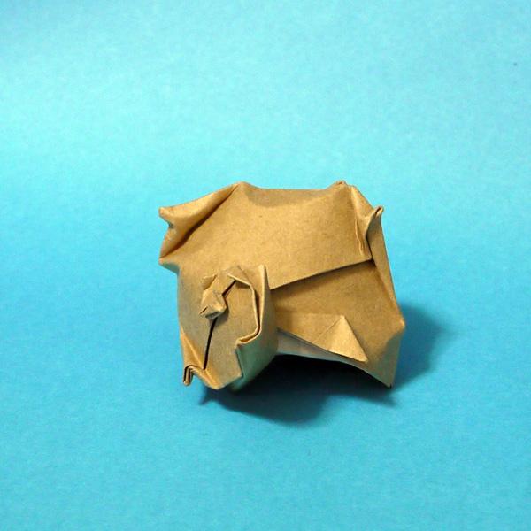折り紙 サザエ