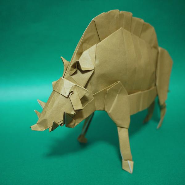 折り紙 猪神 もののけ姫