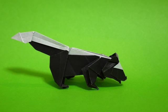 折り紙 スカンク