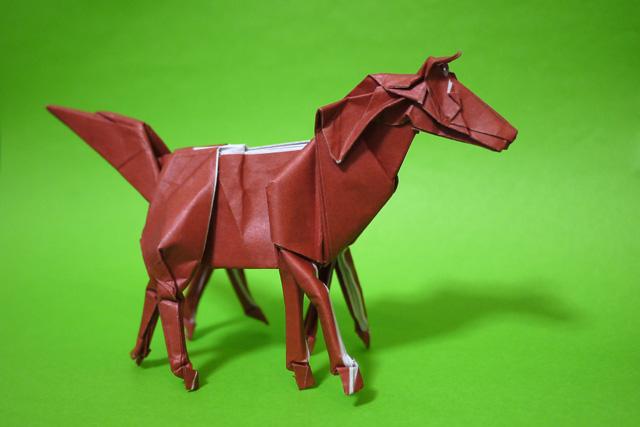 折り紙 馬 スレイプニル