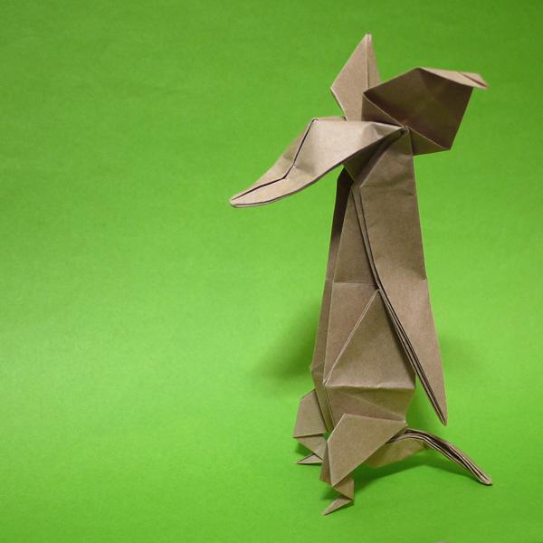 折り紙 ムーミンのスニフ