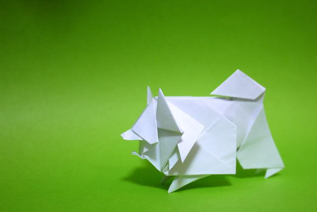 折り紙 スピッツ