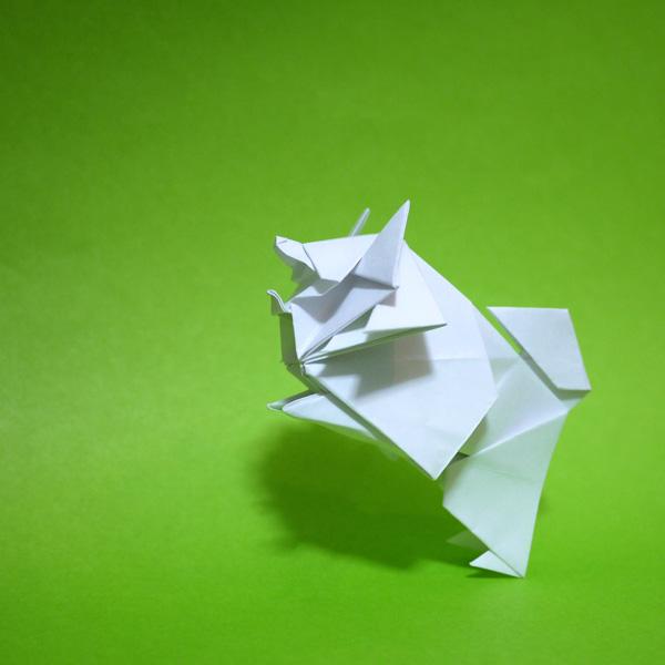 折り紙の犬 スピッツ