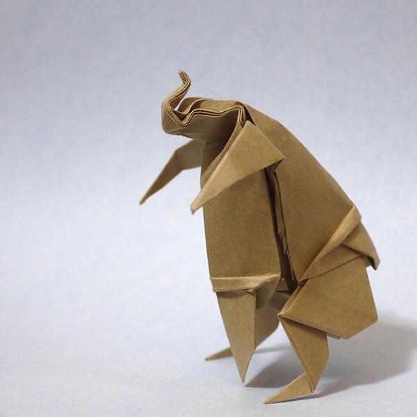 折り紙 お相撲さん