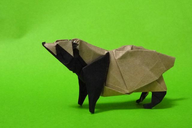 折り紙 タヌキ - 折り紙 Origami ...