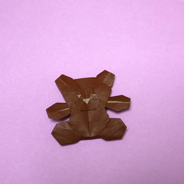 折り紙 テディーベア