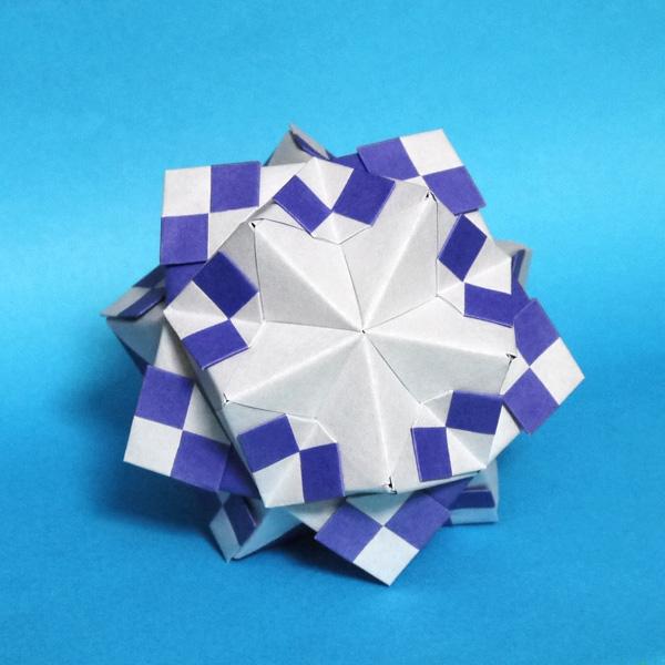 折り紙 東京オリンピック2020のくす玉