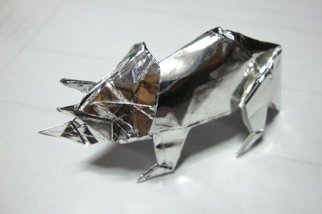 すべての折り紙 折り紙 ドラえもん 折り方 : ... 折り方は前川さんの この本 に