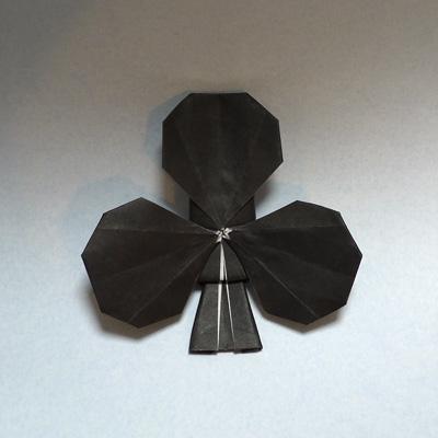 折り紙 トランプのクラブ