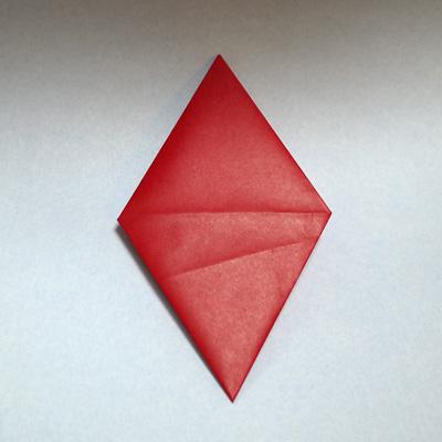 折り紙 トランプのダイヤ