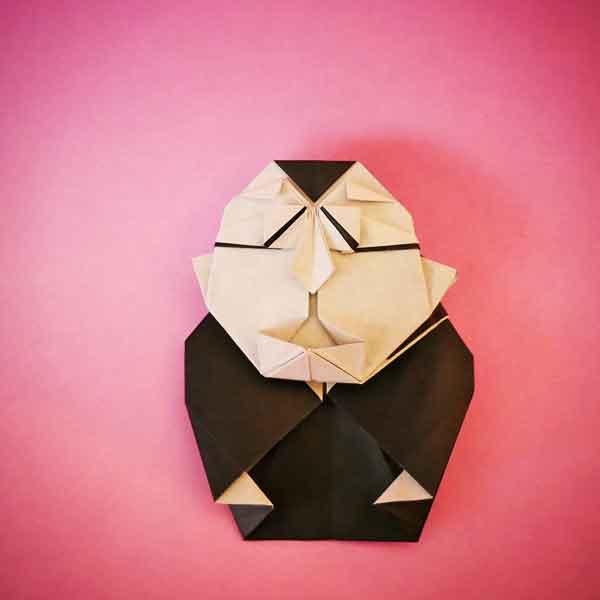 折り紙の笑福亭鶴瓶